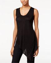 Rachel Roy Asymmetrical Lace-Trim Top, Only at Macy's
