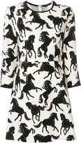 Sportmax Attila horse print dress