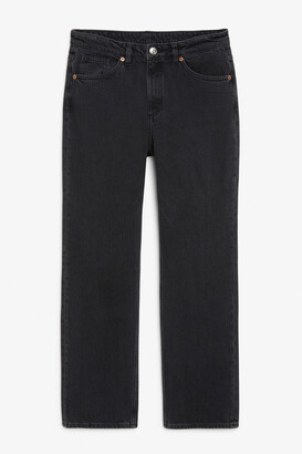Monki Ikmo washed black jeans