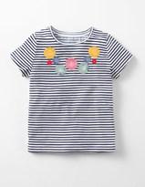 Boden Flutter Flower T-shirt