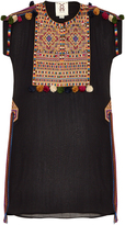 Figue Tikka embroidered georgette dress
