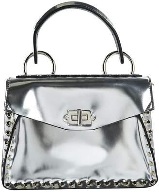 Proenza Schouler Silver Patent leather Handbags
