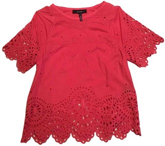 Isabel Marant Red Cotton Top for Women