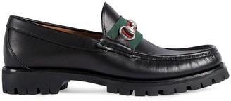 Gucci Web Horsebit loafers