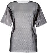 MM6 MAISON MARGIELA mesh T-shirt