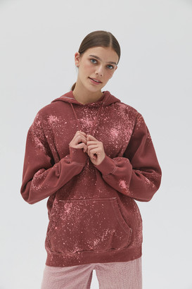 Urban Renewal Vintage Oversized Bleached Hoodie Sweatshirt