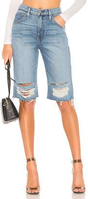 Hudson Jeans Sloane Long Cut Off Short