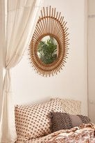 Urban Outfitters Sun Rattan Mirror