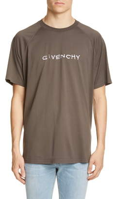 Givenchy Embroidered Oversize Raglan T-Shirt