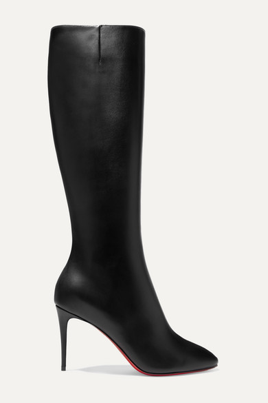 competitive price 18888 02fed Eloise 85 Leather Knee Boots - Black