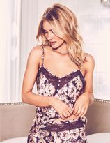 Marks and Spencer Silk & Lace Floral Print Camisole