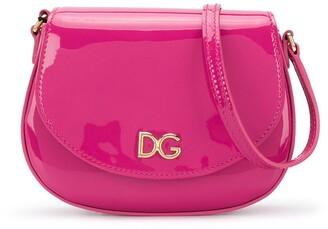 Dolce & Gabbana Kids DG logo shoulder bag