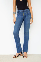 Free People Slim Trouser Flare Jeans
