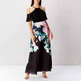 Coast Flamenco Print Maxi Dress