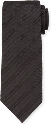 Tom Ford Men's Tonal Stripe Silk-Blend Tie