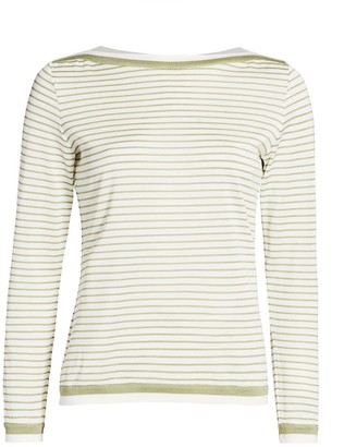 Max Mara Ugolina Nautical Stripe Top