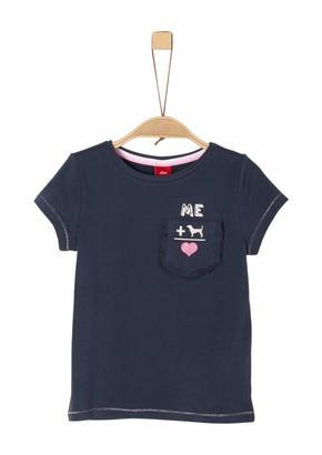 S'Oliver Girl's 53.902.32.5537 T-Shirt