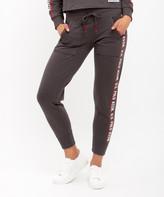 U.S. Polo Assn. Women's Sweatpants DRGY - Dark Heather Gray Skinny Jogger - Women