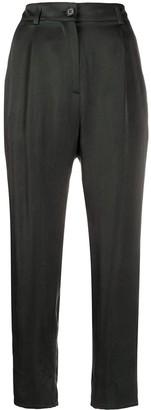 Aspesi High-Rise Tapered Trousers