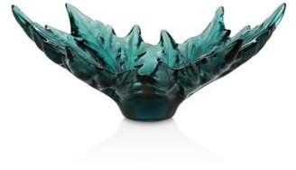 Lalique Champs-Elysées Small Bowl, Deep Green