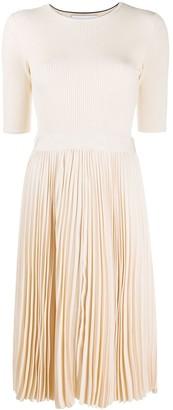 Calvin Klein Pleated Skirt Dress