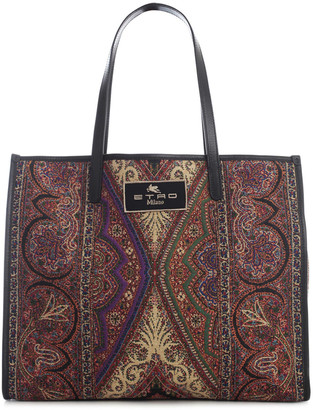 Etro Shopping Old School Tote Bag