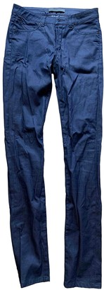 Superfine Blue Cotton - elasthane Jeans for Women