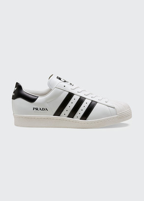 Adidas X Prada x Prada Superstar Bicolor Classic Sneakers