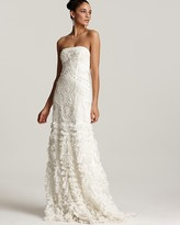 Sue Wong Strapless Gown - Petal