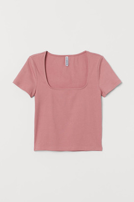 H&M Short jersey top