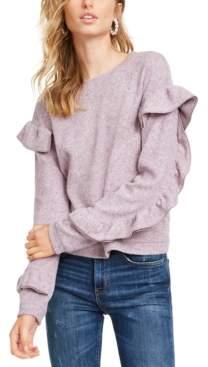 Leyden Ruffle-Sleeve Sweatshirt