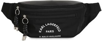 Karl Lagerfeld Paris Rue St-Guillaume Nylon Belt Bag