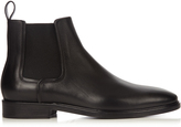 Lanvin Dual-leather chelsea boots