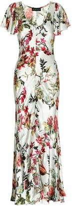 Etro Floral midi dress