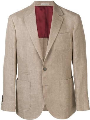 Brunello Cucinelli Patch Pocket Blazer