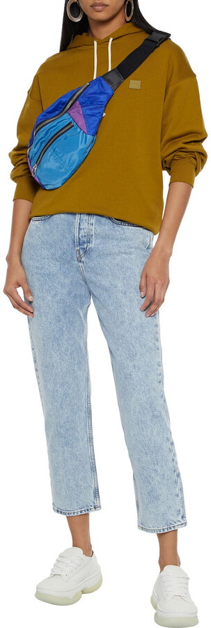 Thumbnail for your product : Rag & Bone Maya Cropped Acid-wash High-rise Straight-leg Jeans