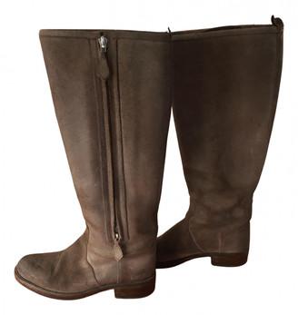 Hermã ̈S HermAs Brown Leather Boots