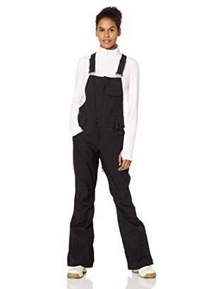 Volcom womensSwift Bib Overall Snowpant Snow Pants - Black - x-Large