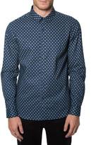 7 Diamonds &Verdant& Trim Fit Long Sleeve Woven Shirt
