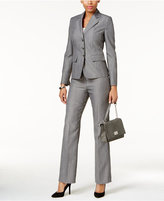 Le Suit Mélange Three-Button Pantsuit