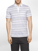 Calvin Klein Slim Fit Autostripe Mercerized Polo Shirt