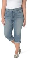 NYDJ Plus Size Women's Marilyn Crop Cuff Jeans