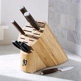 Crate & Barrel Shun ® Premier 5-Piece Block Knife Set with Bonus Shears