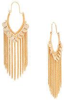 Anna & Ava Shaky Coin & Chain-Fringe Statement Hoop Earrings