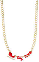 Celebrate Shop Sleigh My Name Necklace, Only at Macy's