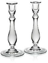 William Yeoward Crystal Meryl Candlesticks, Set of 2