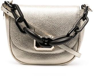 Red(V) Chain-Handle Shoulder Bag