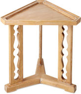 Bunny Williams Home Porter 20 Triangular Side Table, Oak