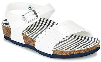 Birkenstock RISA girls's Sandals in White