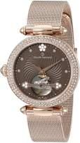 Claude Bernard Women's 85023 37RPM BRPR Dress Code Analog Display Swiss Automatic Rose Gold Watch